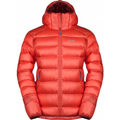 Pánská zimní bunda ZAJO Moritz Jkt rudá
