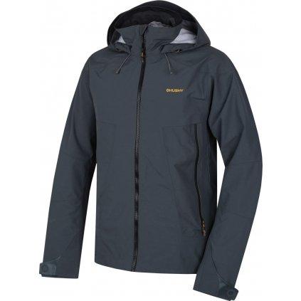Pánská outdoor bunda  HUSKY Nakron M černý mentol