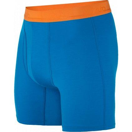 Pánské trenky ZAJO Bjorn Merino Shorts modrá