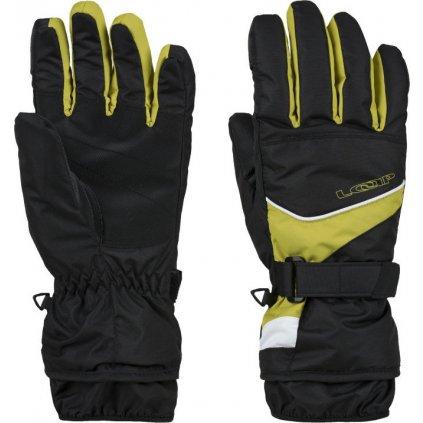 Lyžařské rukavice LOAP Rodon žlutá