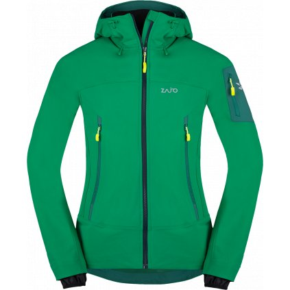 Pánská bunda ZAJO Air LT Hoody Jkt zelená 2