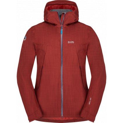 Pánská nepromokavá bunda ZAJO Gasherbrum Neo Jkt rudá