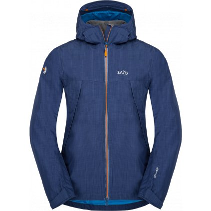 Pánská  nepromokaVá bunda ZAJO Gasherbrum Neo Jkt modrá 2