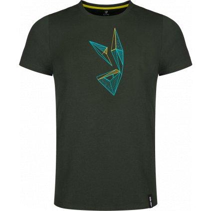 Pánské tričko ZAJO Bormio T-shirt SS olivová 2