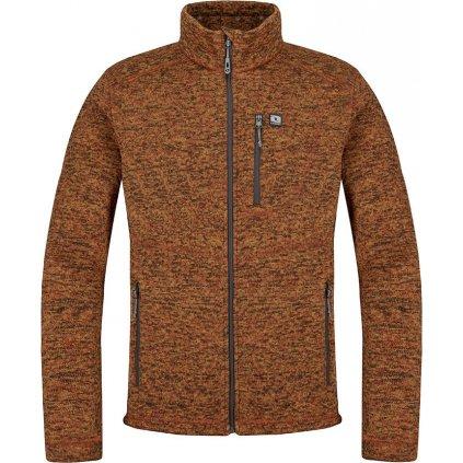Pánský sportovní svetr LOAP Grove oranžová