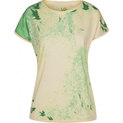 Dámské triko krátký rukáv LOAP Byblos zelená