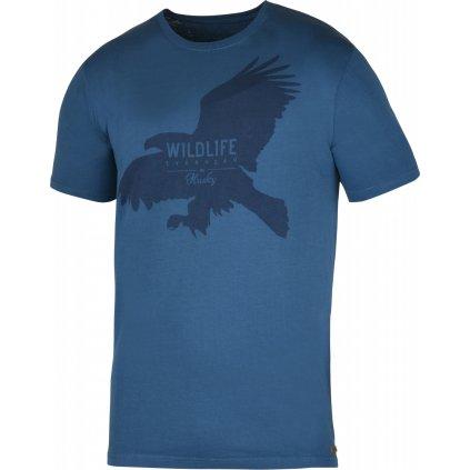 Pánské triko HUSKY  Eagle M tm. modrá
