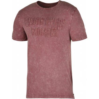 Pánské triko HUSKY  Bueno M tm. cihlová