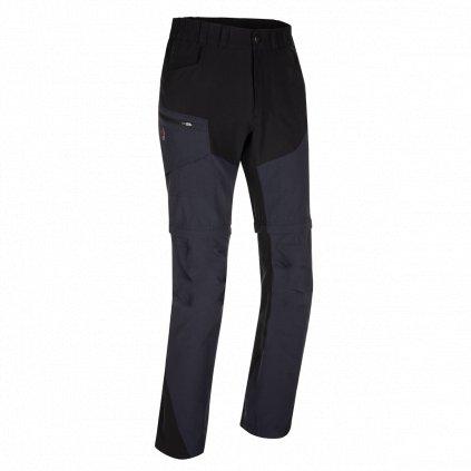 Pánské kalhoty Zajo Magnet Neo Zip Off Pants černá