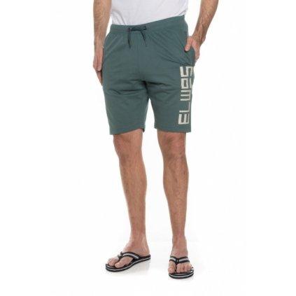 Pánské šortky SAM 73 Tmavě zelená