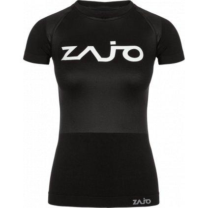 Dámské tričko ZAJO Contour W T-shirt SS černá 2