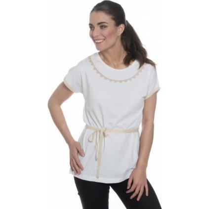 Dámské triko s krátkým rukávem SAM 73 bílá
