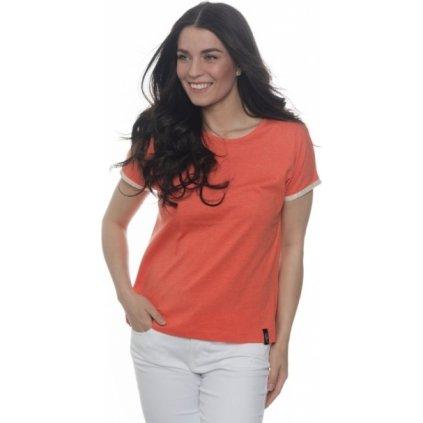 Dámské triko s krátkým rukávem SAM 73 oranžová
