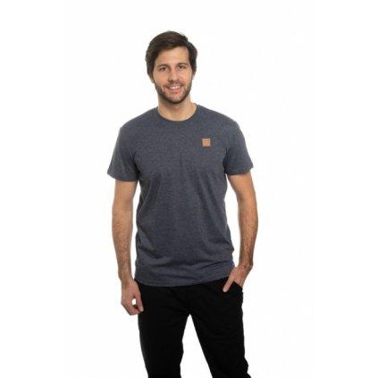 Pánské triko s krátkým rukávem SAM 73 modrá tmavá