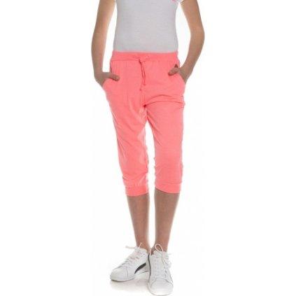 Dívčí 3/4 kalhoty SAM 73 růžová