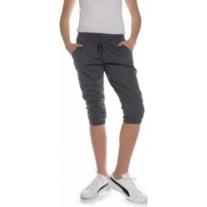 Dívčí 3/4 kalhoty SAM 73 modrá tmavá