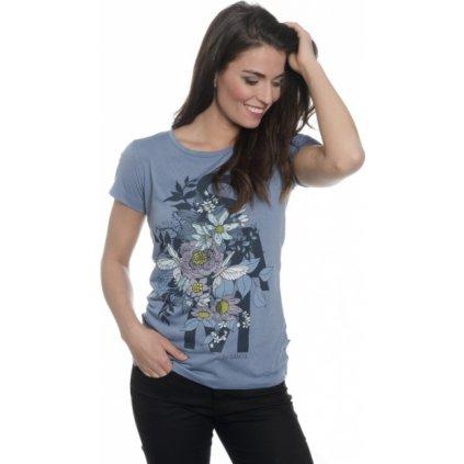 Dámské triko s krátkým rukávem SAM 73 stonewash