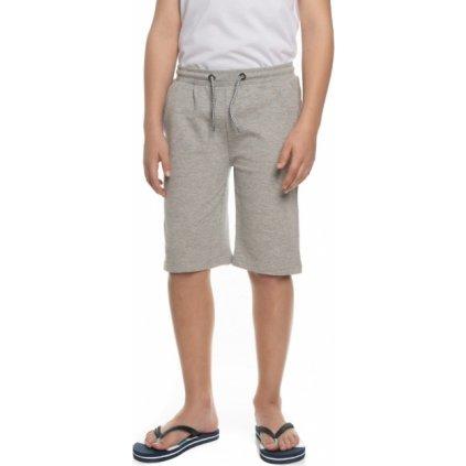 Chlapecké šortky SAM 73 šedá světlá