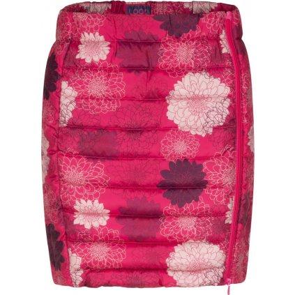 Dámská sportovní sukně LOAP Iralca růžová celopotisk