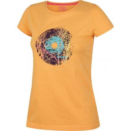 Dámské triko  HUSKY Tarja sv. oranžová