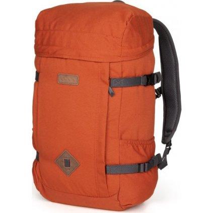 Městský batoh LOAP Malmo červená | šedá