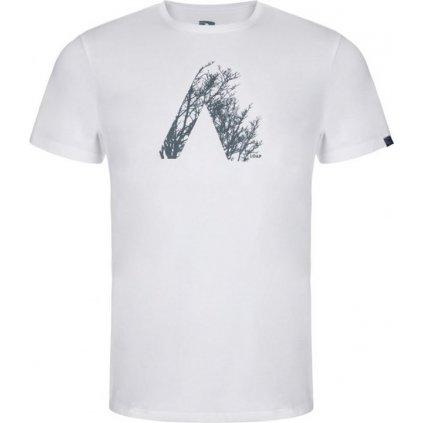 Pánské triko LOAP Alamo bílá | modrá