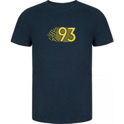 Pánské triko LOAP Alkor modrá | žlutá