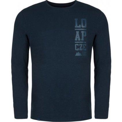 Pánské triko LOAP Aleki modrá