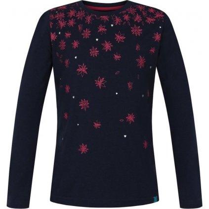 Dětské triko LOAP Arola modrá | růžová