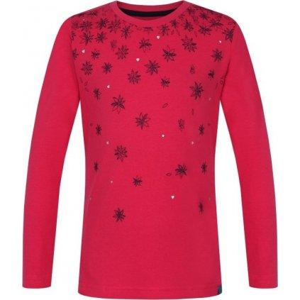 Dětské triko LOAP Arola růžová | červená