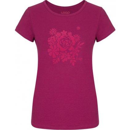 Dámské triko LOAP Anicka růžová