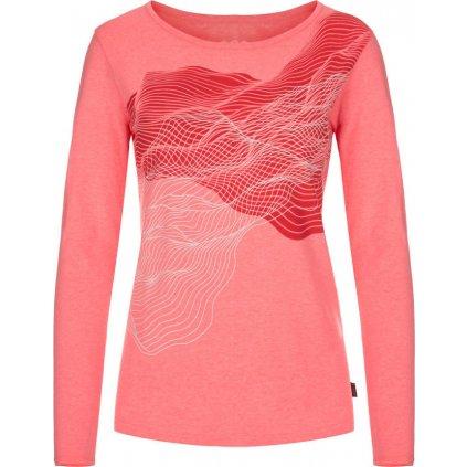 Dámské triko  LOAP Angelika růžová