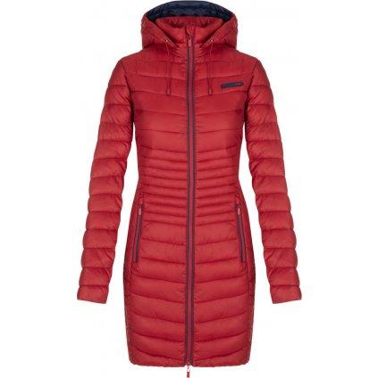 Dámský zimní kabát LOAP Jessika červená