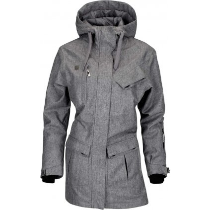 Dámská bunda WOOX Cristy Ladies´ Jacket Grey