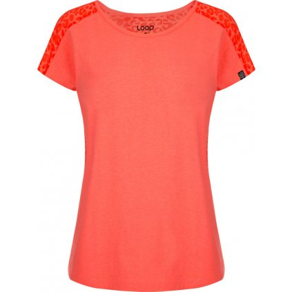 Dámské triko LOAP Brena oranžová
