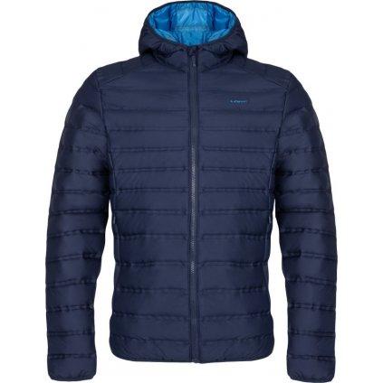 Pánská zimní bunda do města LOAP Iten modrá