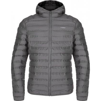Pánská zimní bunda do města LOAP Iten šedá