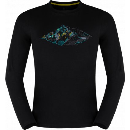 Pánské thermo triko ZAJO Bormio T-shirt LS černá 3