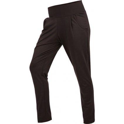 Kalhoty dámské dlouhé s nízkým sedem LITEX černé