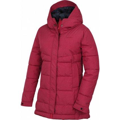 Dámský hardshell plněný kabátek HUSKY  Nilit L purpurová