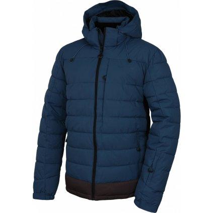 Pánská hardshell plněná zimní bunda HUSKY  Nerel M tm. modrá
