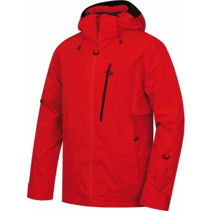 Pánská lyžařská bunda HUSKY  Montry M červená
