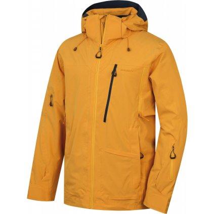 Pánská lyžařská bunda  HUSKY Montry M krémově žlutá