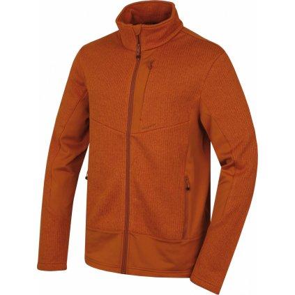 Pánský fleecový svetr HUSKY Alan M hněhooranžová