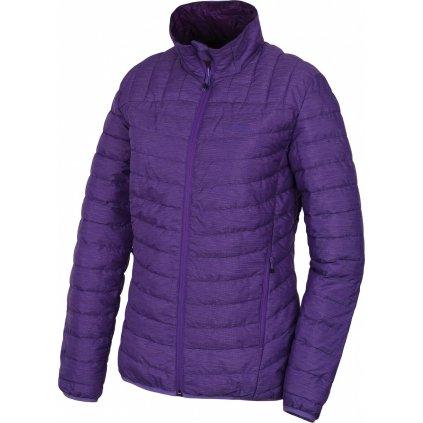 Dámská plněná oboustranná bunda HUSKY Nodiq L fialová / tm. fialová