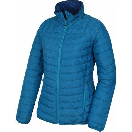 Dámská plněná oboustranná bunda HUSKY Nodiq L tm. tyrkysová / tm. modrá