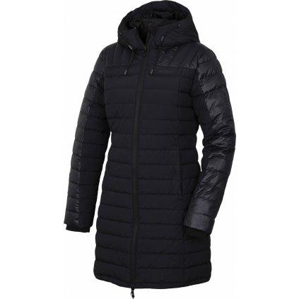 Dámský péřový kabátek HUSKY Daili L černá