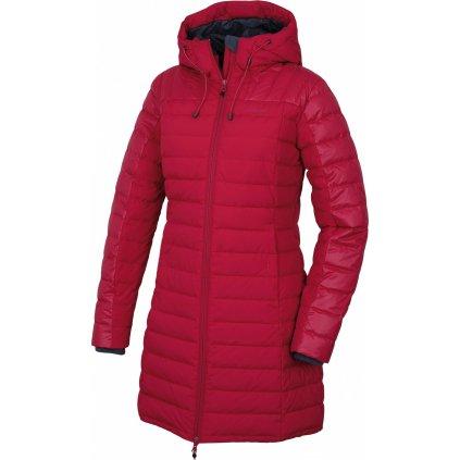 Dámský péřový kabátek HUSKY  Daili L purpurová