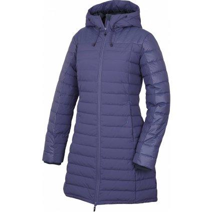 Dámský péřový kabátek HUSKY Daili L šedofialová
