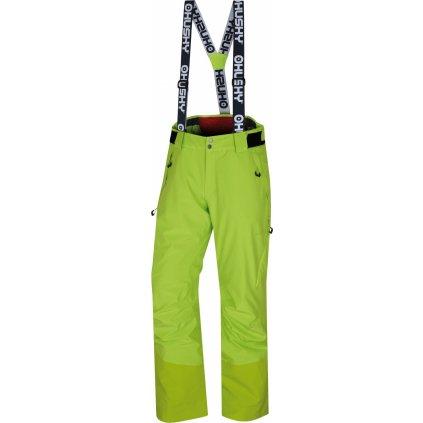 Pánské lyžařské kalhoty HUSKY Mitaly M výrazně zelená